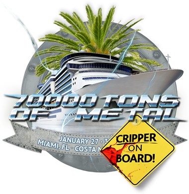 "Cripper on ""70.000 Tons Of Metal"""
